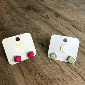 NEW ✨ 2 Pairs! Bright, cute earrings!